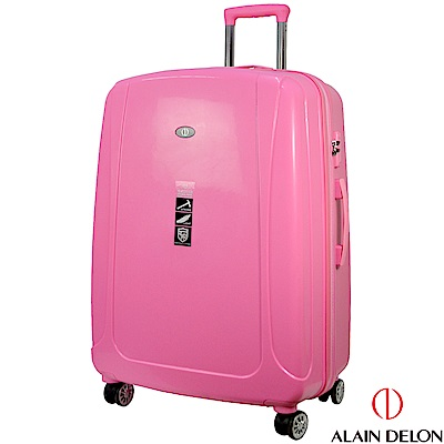 ALAIN DELON 亞蘭德倫 28吋旅者風情系列旅行箱(粉)