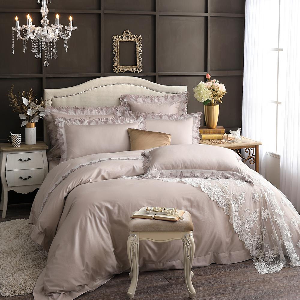 Cozy inn 狄蜜特 雙人四件組 300織精梳棉薄被套床包組