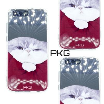 PKG ASUS Zenfone4 MAX ZC554彩繪空壓氣囊保護殼-浮雕彩繪-霸王貓