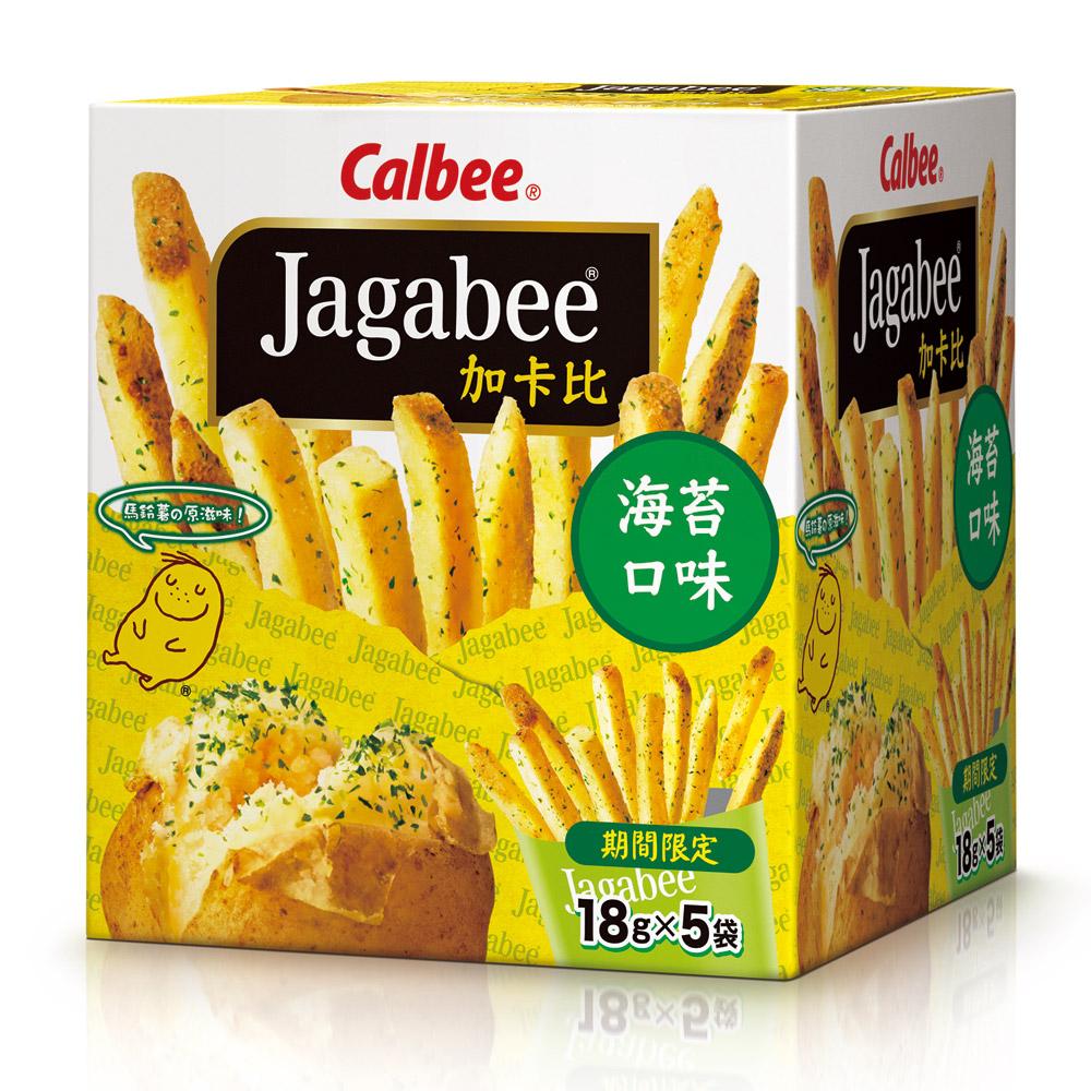 Calbee 薯條先生-海苔(18gx5入)