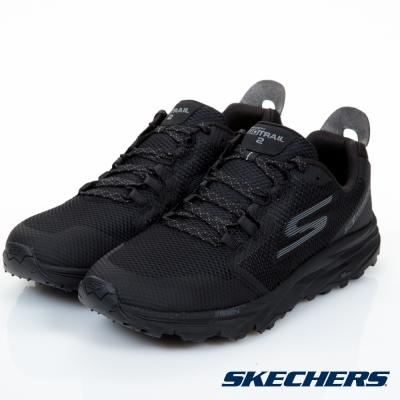 SKECHERS (男) 跑步系列 GO TRAIL 2 - 54120BBK