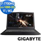 GIGABYTE Sabre15G 15吋電競筆電(i7-7700/GTX1050/1T/8G