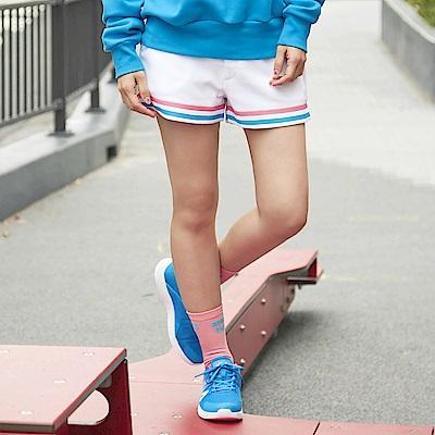 FILA #東京企劃 女針織短褲-白5SHS-1413-WT