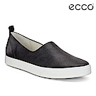 ECCO GILLIAN 女 質感時尚尖頭懶人鞋-黑