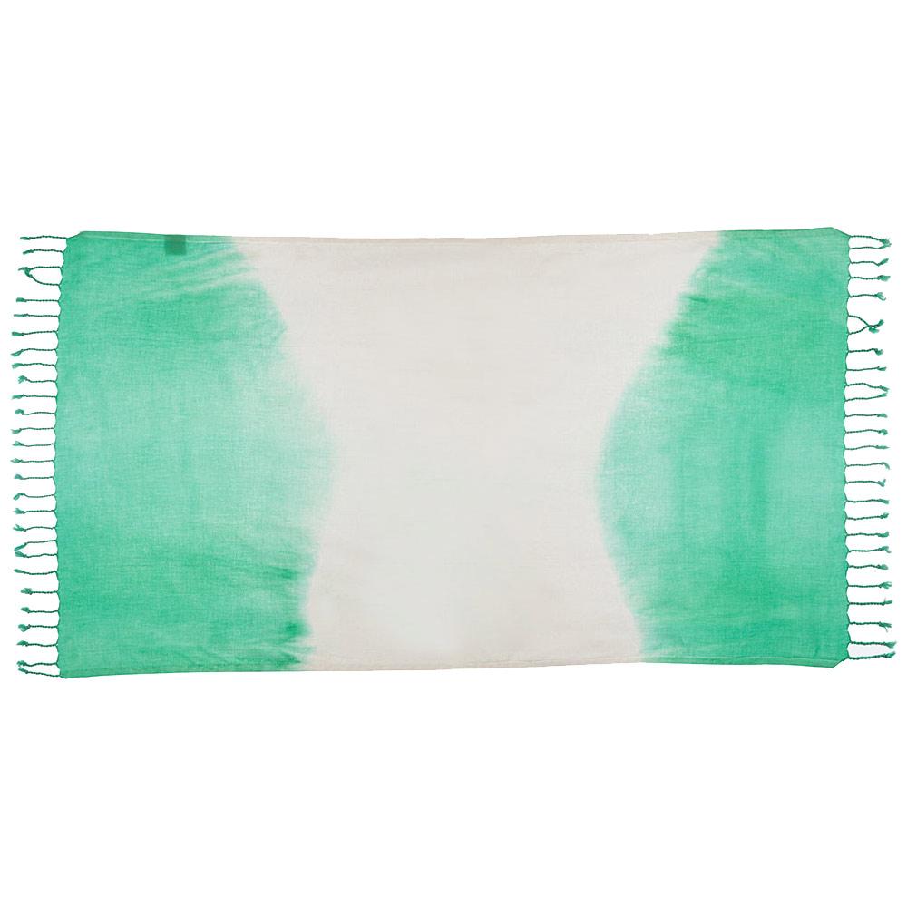 TAMA 天然純淨頂級土耳其手工平織薄巾(淡暈海蜜綠)