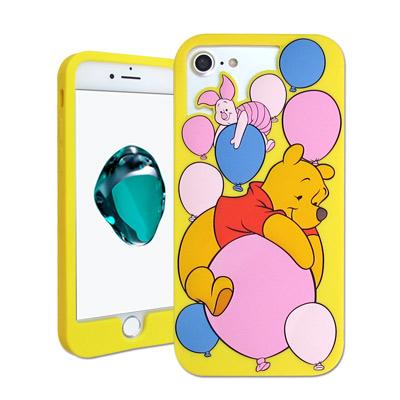 迪士尼授權 iPhone 7 / 6s / 6 4.7吋 鏤空軟膠套(氣球維尼小豬)
