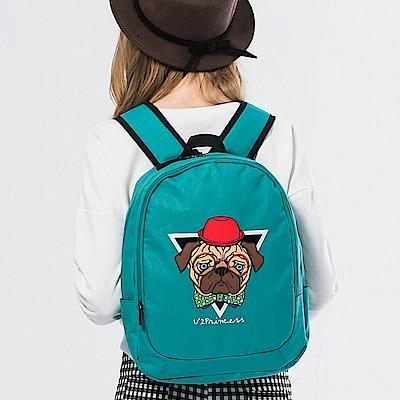 1/2princess獨家設計款個性八哥街頭背包 [A2596]