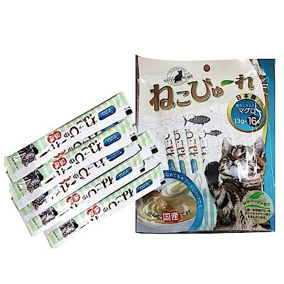 MDOBI摩多比-妮可布蕾貓泥 鮪魚+干貝口味(13gx16條)-2入組