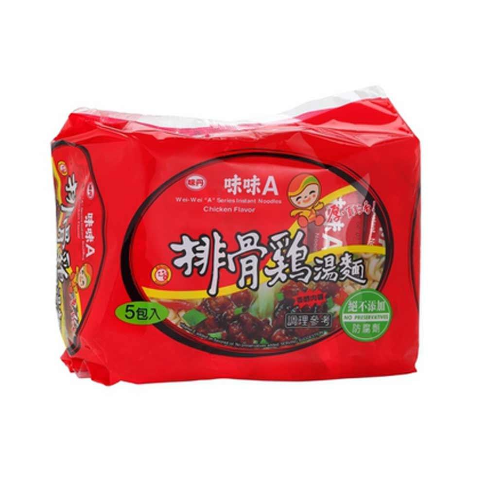 味味A 排骨雞包麵(5入/袋)
