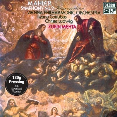 馬勒-第2號交響曲復活-黑膠-2LP