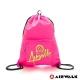 【AIRWALK】美式休閒風格尼龍束口袋後背包