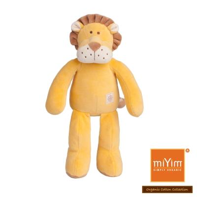 美國miYim有機棉安撫娃娃 故事書系列-里歐獅子