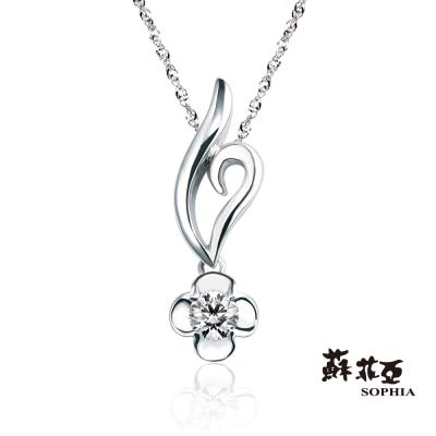蘇菲亞SOPHIA-菲希絲0-05克拉鑽鍊