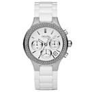 DKNY 極羨之美晶鑽時尚陶瓷腕錶-NY4985/38mm