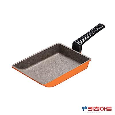 Kitchen Art亮麗橘鈦晶石玉子燒鍋-19cm(8H)