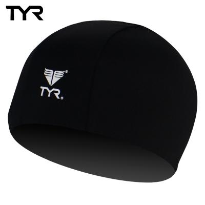 美國TYR 成人萊卡泳帽 Lycra Swim Cap Black台灣總代理