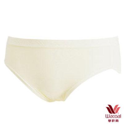 #【華歌爾】新伴蒂內褲M-LL中腰高裾三角款(象牙白)