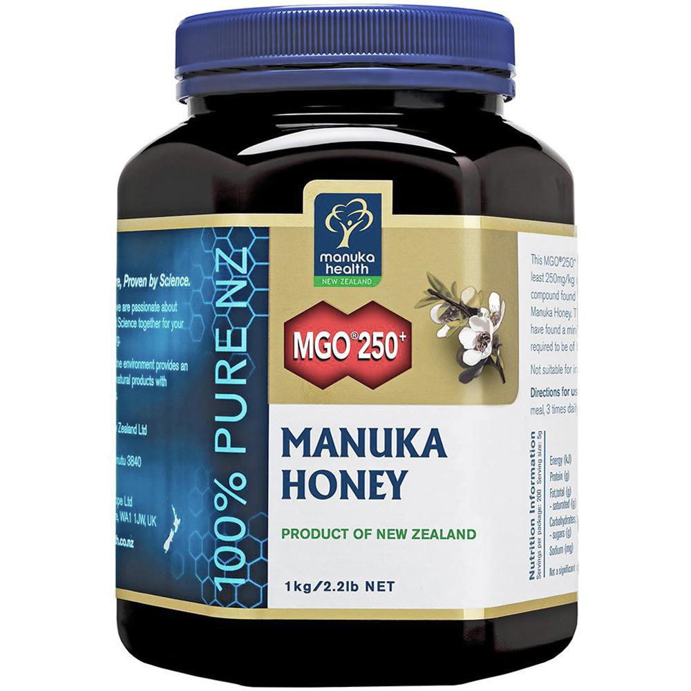 紐西蘭Manuka Health 麥蘆卡蜂蜜MGO 250+ (1kg)