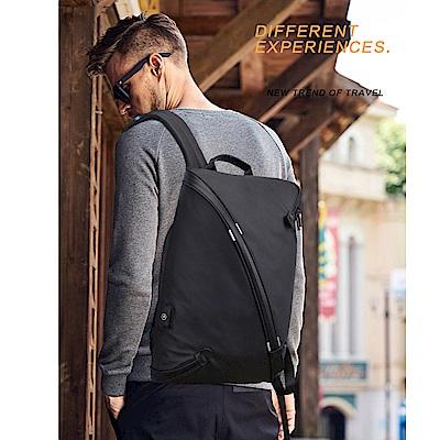 leaper 一體成型防水防盜個性休閒電腦後背包