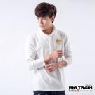 BIG TRAIN-佛陀過海POLO衫-白