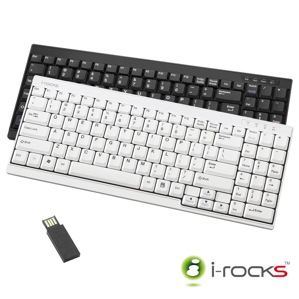 【停售】i-rocks RF-6520 2.4GHz 超薄迷你無線鍵盤