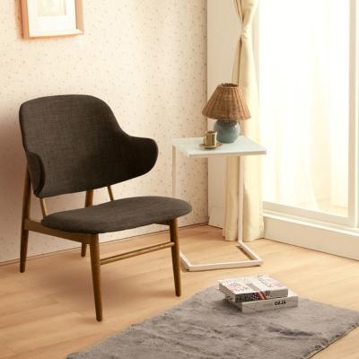 諾雅度 Kenny肯尼和風日作單人椅-鐵灰