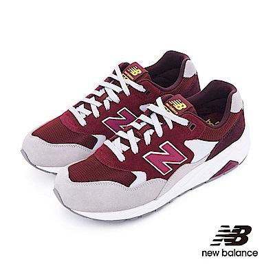 New Balance 580復古鞋MRT580LH中性酒紅