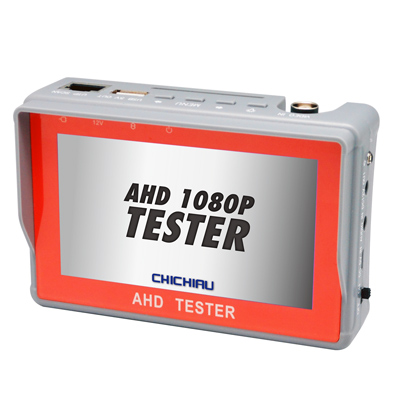 奇巧 工程級4.<b>3</b>吋AHD 1080P/720P數位類比腕帶式影音訊號顯示器工程寶