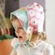 Kinderspel 雙面穿戴_輕柔童話花帽