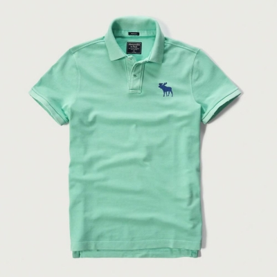 AF a&f Abercrombie & Fitch 短袖 polo 綠色