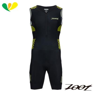 ZOOT 專業級肌能連身鐵人服(男)(格紋黃) Z1706023