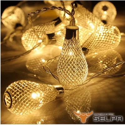 韓國SELPA 繽紛飾品-鐵藝造型LED燈串 10燈組