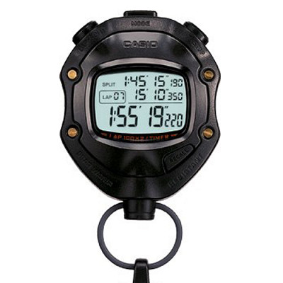 CASIO 無敵足球防水計時馬錶(HS-80TW-1)