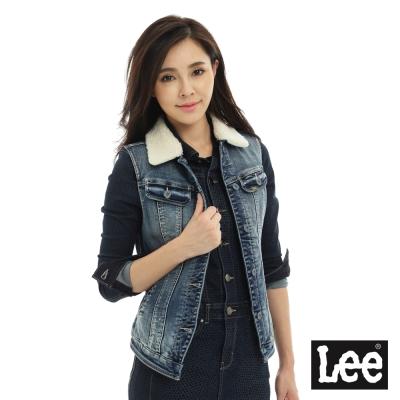 Lee-101-可愛牛仔背心-女-藍色