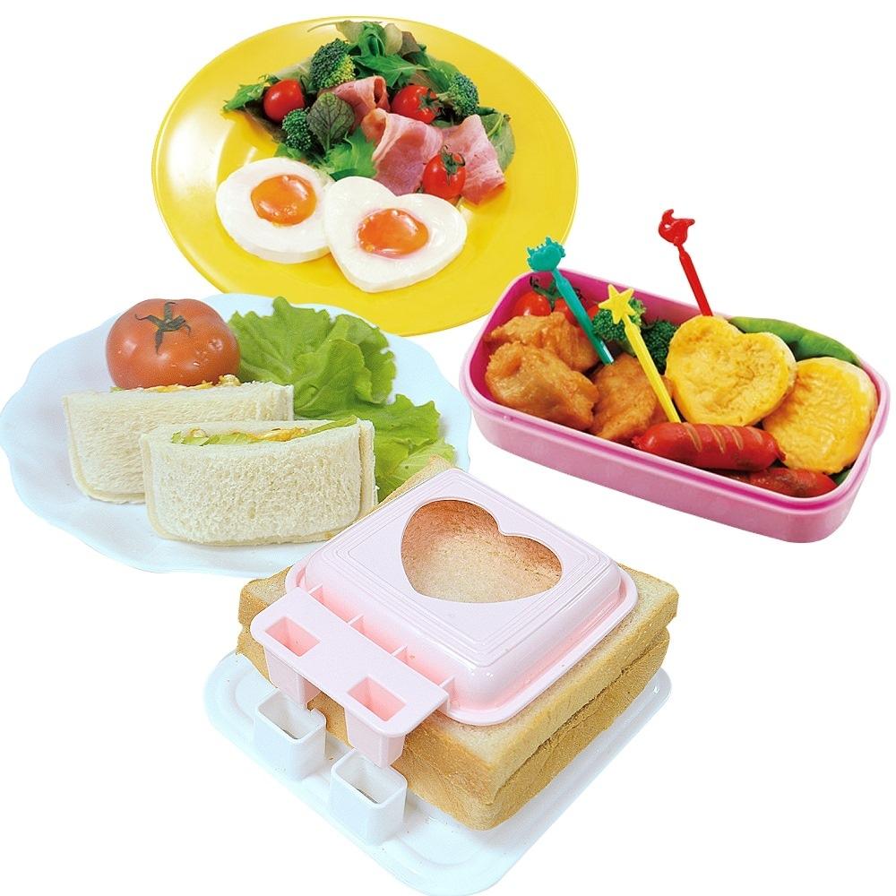 日本製造sanada(蒸蛋模具 三明治模具)2件組