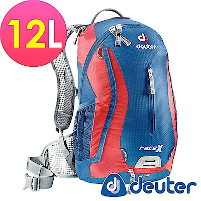 【ATUNAS 歐都納】德國DEUTER自行車背包/運動登山背包32123藍/紅