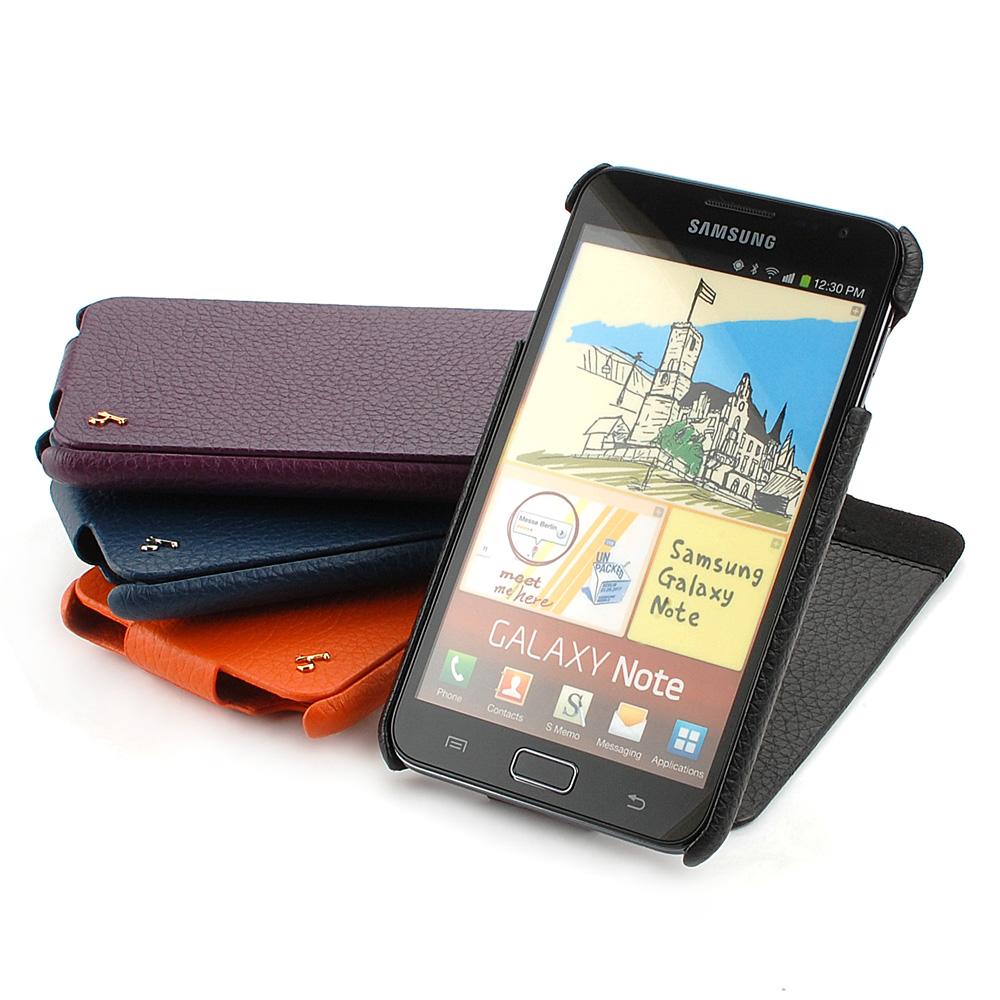 皮套王精品手工 Samsung Galaxy Note 硬殼式PDA式+下蓋現貨皮套