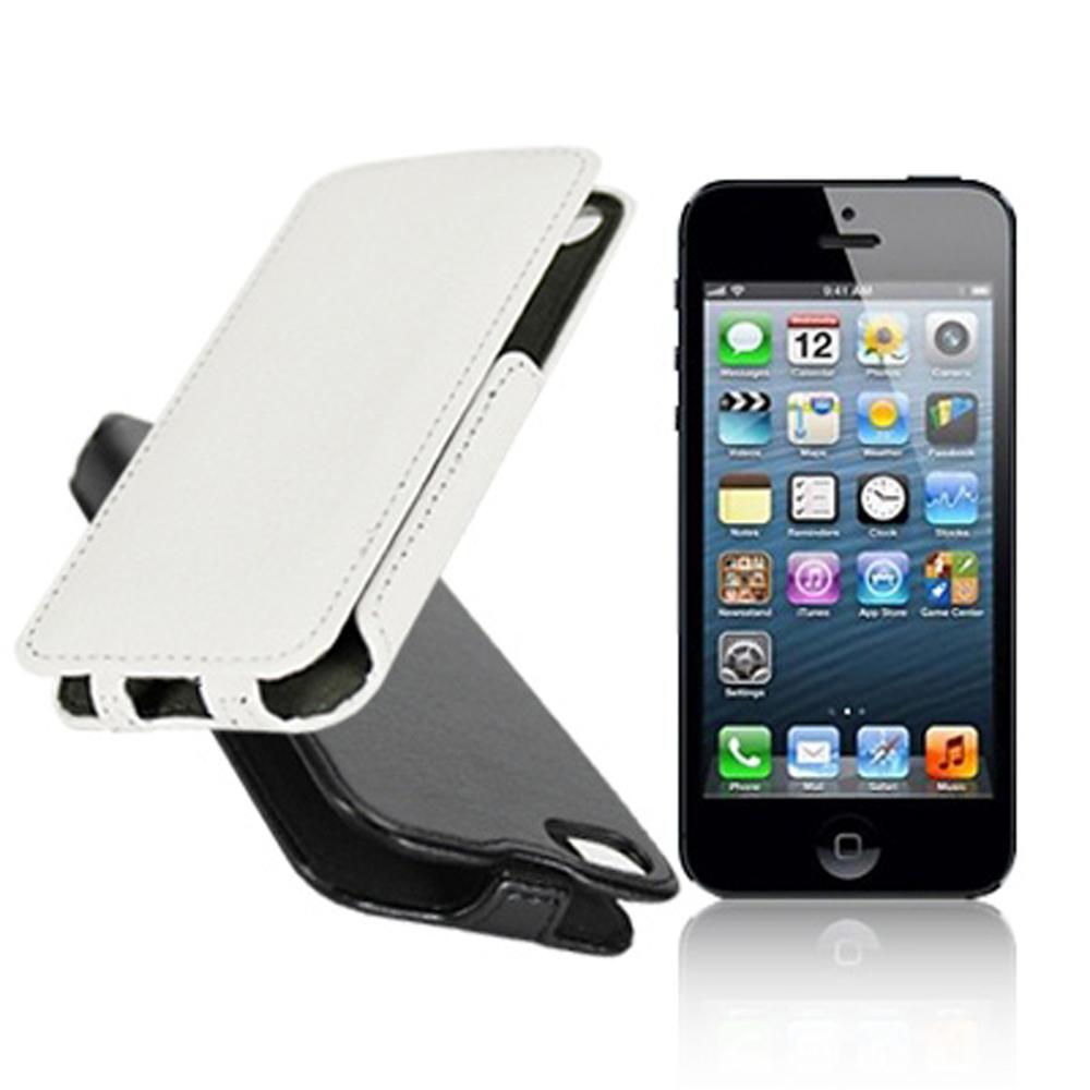 POLARiS Apple iPhone5/5S/SE 熱定下掀式皮套