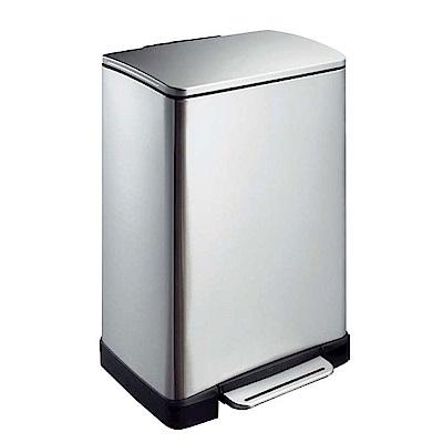 EKO 逸酷緩降靜音不鏽鋼大容量垃圾桶 20L