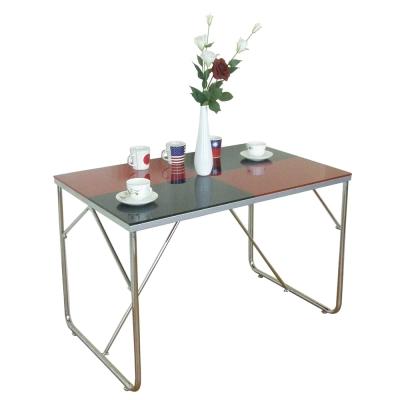 【Dr.DIY】雙彩強化玻璃桌(寬110x深70)