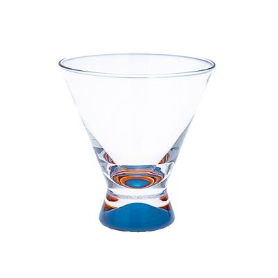 DANSK 幻彩雞尾酒杯(藍色×橘色)