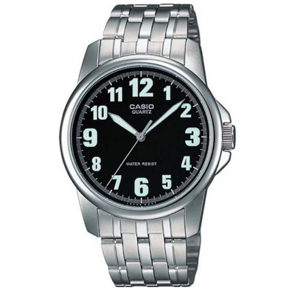 CASIO 都會城市新風範指針錶(MTP-1216A-1B)-黑/39.6mm