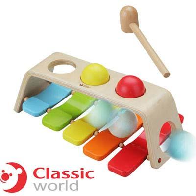 德國 classic world敲擊球敲打琴組
