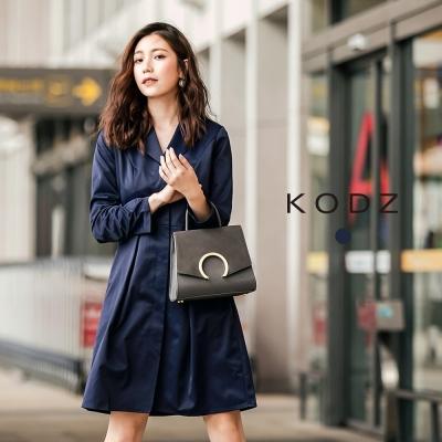 東京著衣-KODZ-歐美時髦注目風衣式設計洋裝