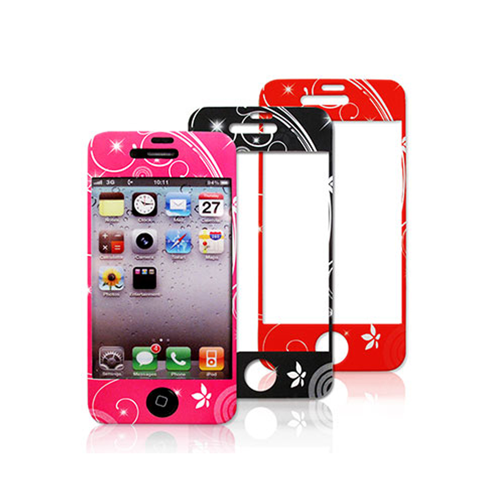 iPhone 4S/4 機身螢幕保護貼(正反雙膜)