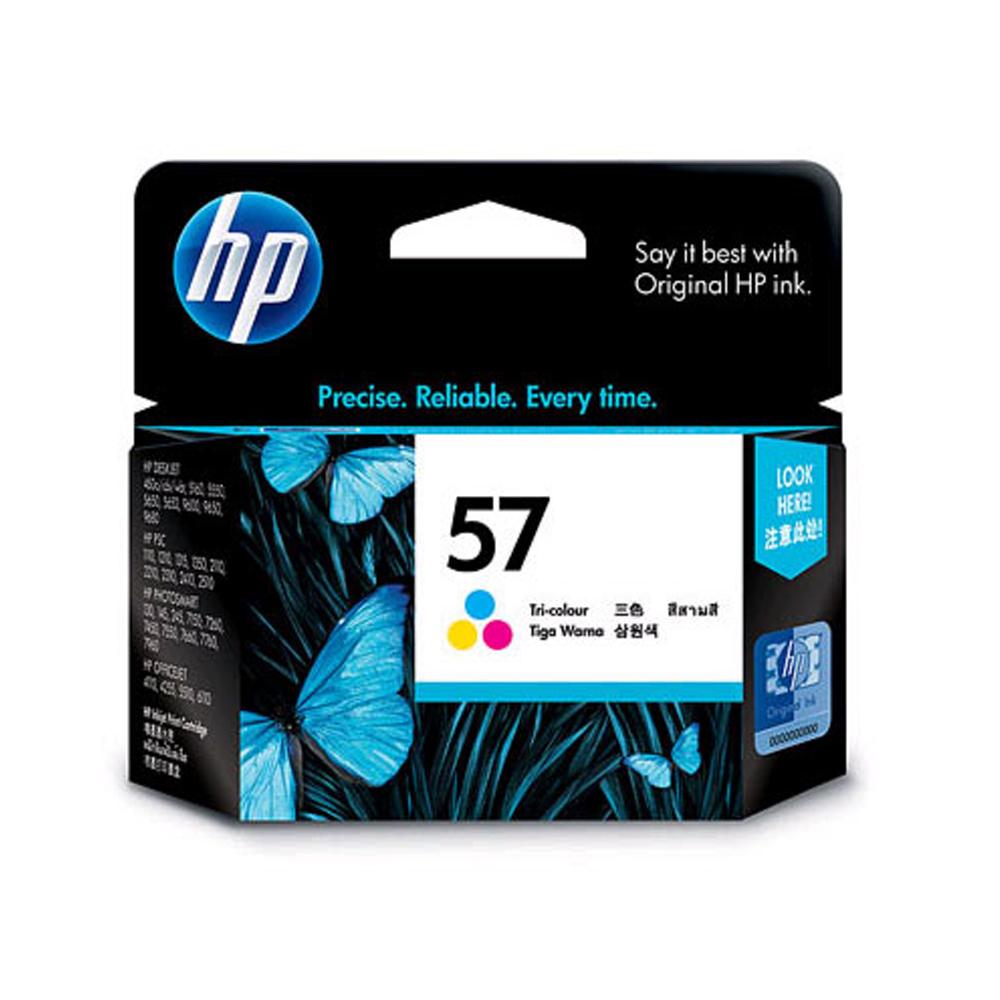 HP C6657A NO.57 原廠彩色墨水匣(一入)