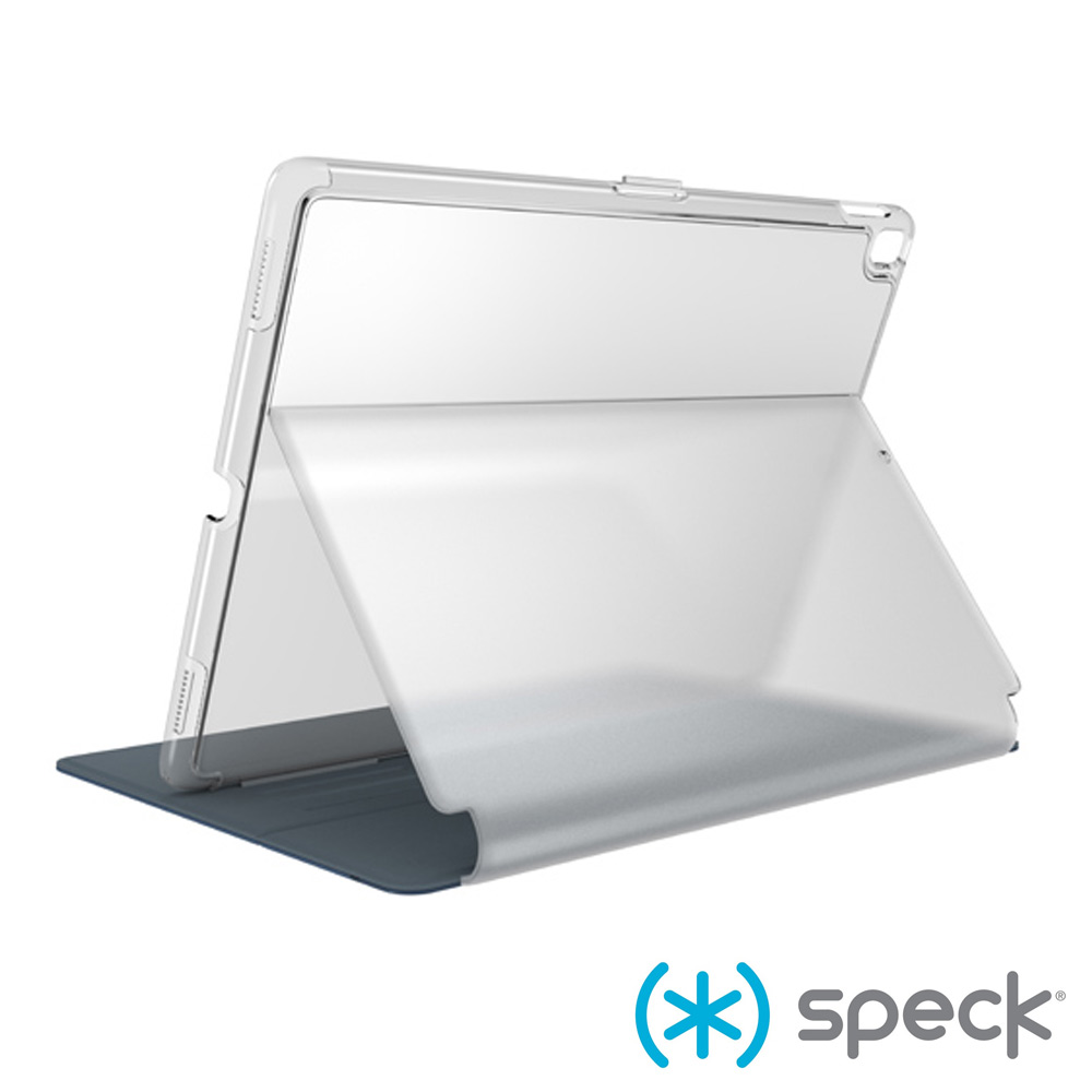 Speck Balance Folio Clear iPad 9.7多角度側翻皮套