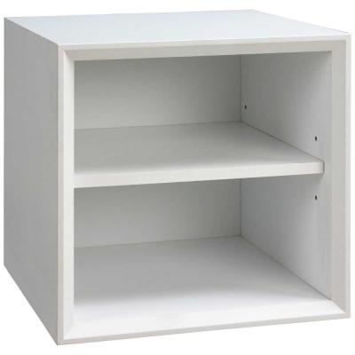 魔術方塊36系統收納櫃/棚板櫃-白色