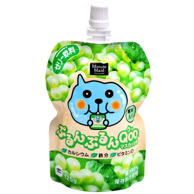 Coca-Cola Qoo果凍飲便利包-青葡萄(125g)