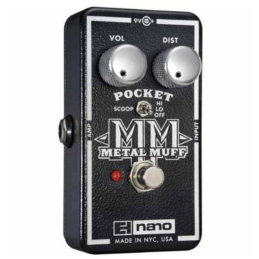 EH Nano Pocket Metal Muff  破音 效果器